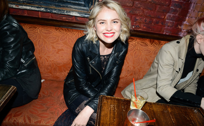 "Kayslee Collins ""FEARLESS"" release party - photographed by Steven Meiers, December 17 2014 at Bar Lubitsch, Los Angeles"