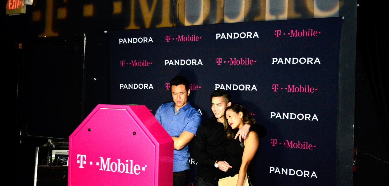 The TMobile Photobooth