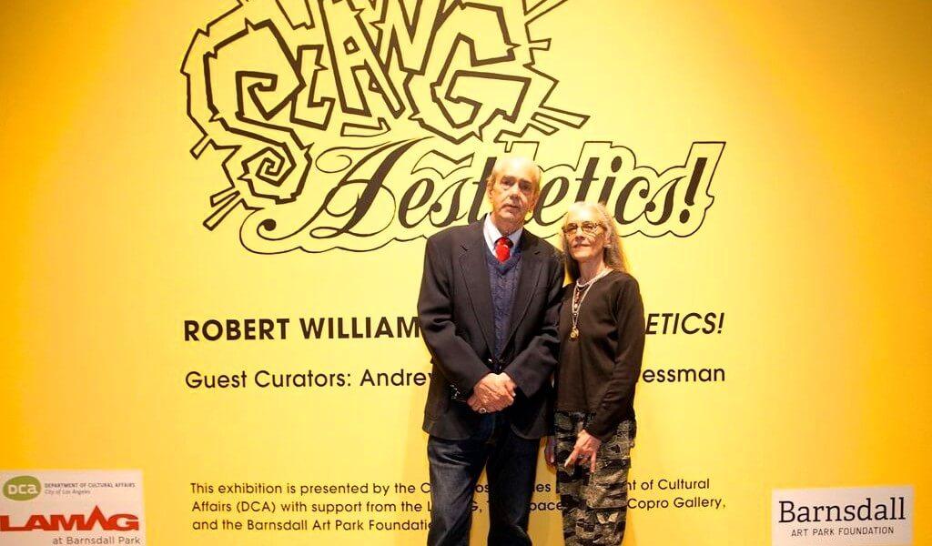 Robert Williams w/ wife Suzanne Williams