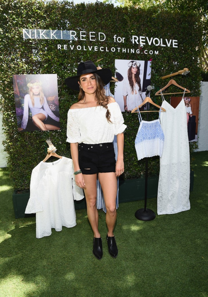 Actress Nikki Reed hosts the People StyleWatch & REVOLVE Fashion and Festival Event at Avalon Palm Springs on April 11, 2015 in Palm Springs, California