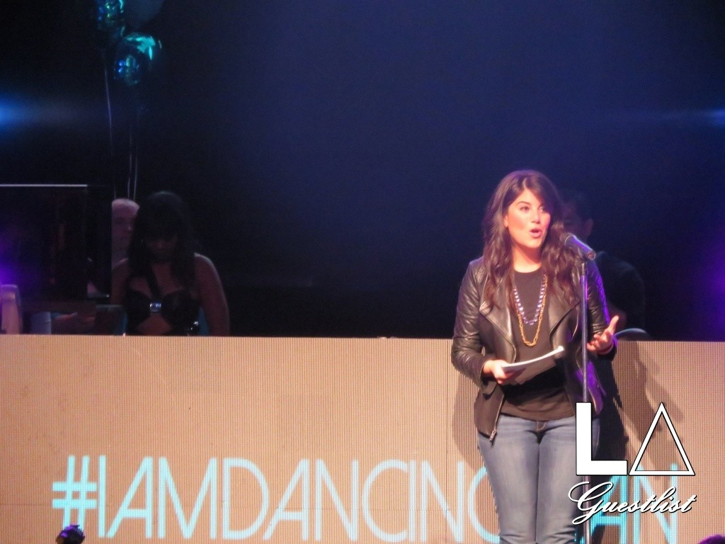 Monica Lewinsky speaks at The Dancing Man event at Avalon on May, 23rd, 2015 in Los Angeles, California