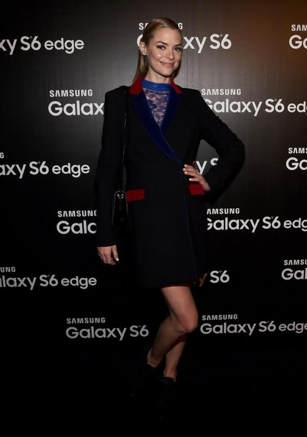 Actress Jaime King attends the Samsung Studio LA Launch Event across from the Grove on April 28, 2015 in Los Angeles, California