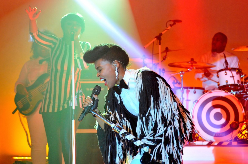 Recording artist Janelle Monae performs at the 2015 MOCA Gala presented by Louis Vuitton at The Geffen Contemporary at MOCA on May 30, 2015 in Los Angeles, California