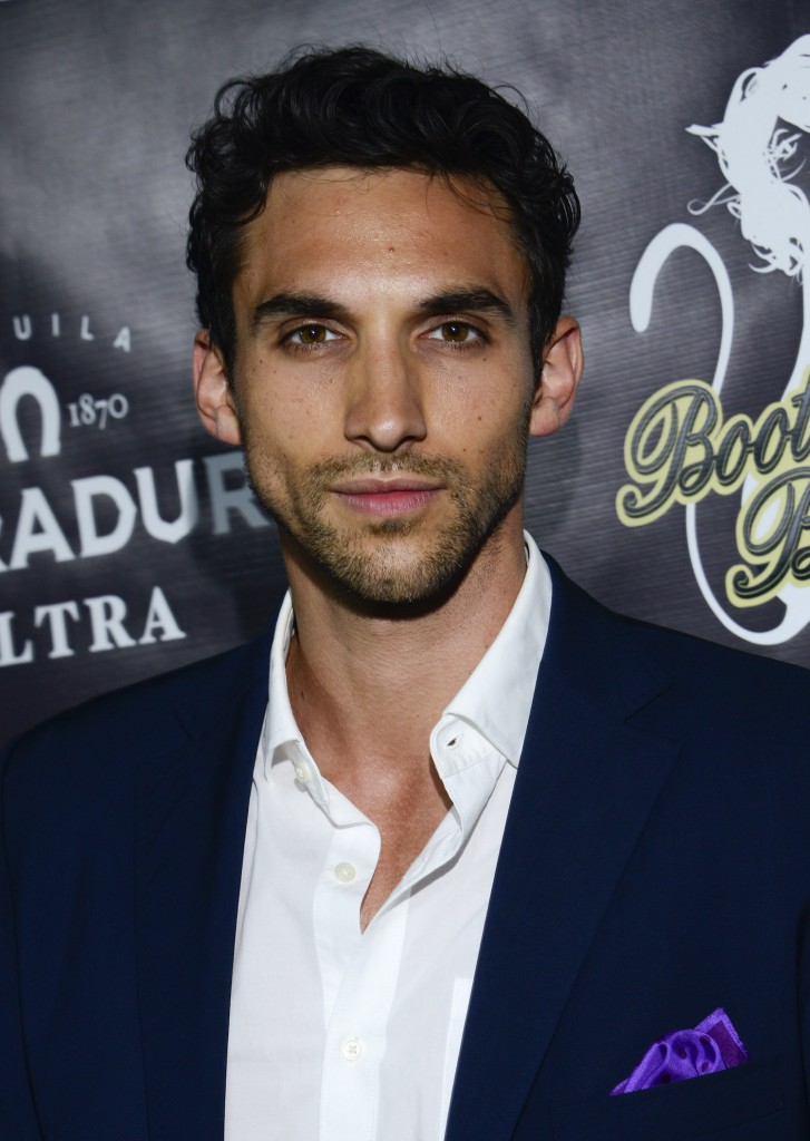 Actor Dominic Adams attends the Tequila Herradura Ultra Launch Party At The Bootsy Bellows Pop-Up on June 9, 2015 in Beverly Hills, California