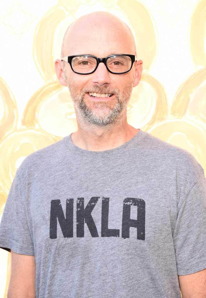 Singer/songwriter Moby attends the Wanderlust Hollywood Grand Opening on July 22, 2015 in Los Angeles, California