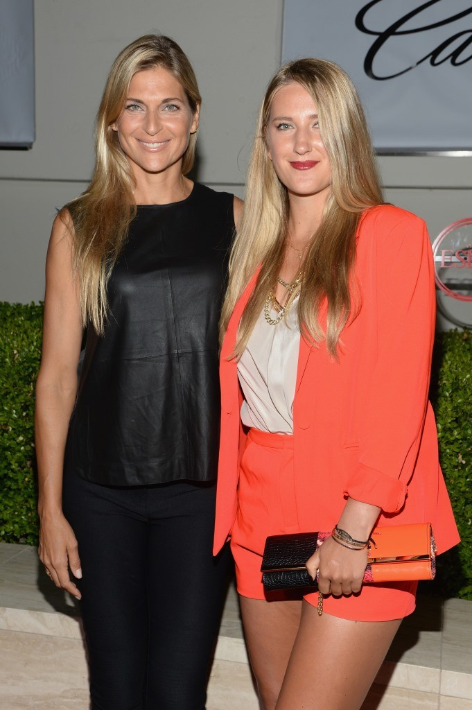 Volleyball player Gabrielle Reece and tennis player Victoria Azarenka attend BODY at ESPYs at Milk Studios on July 14, 2015 in Hollywood, California