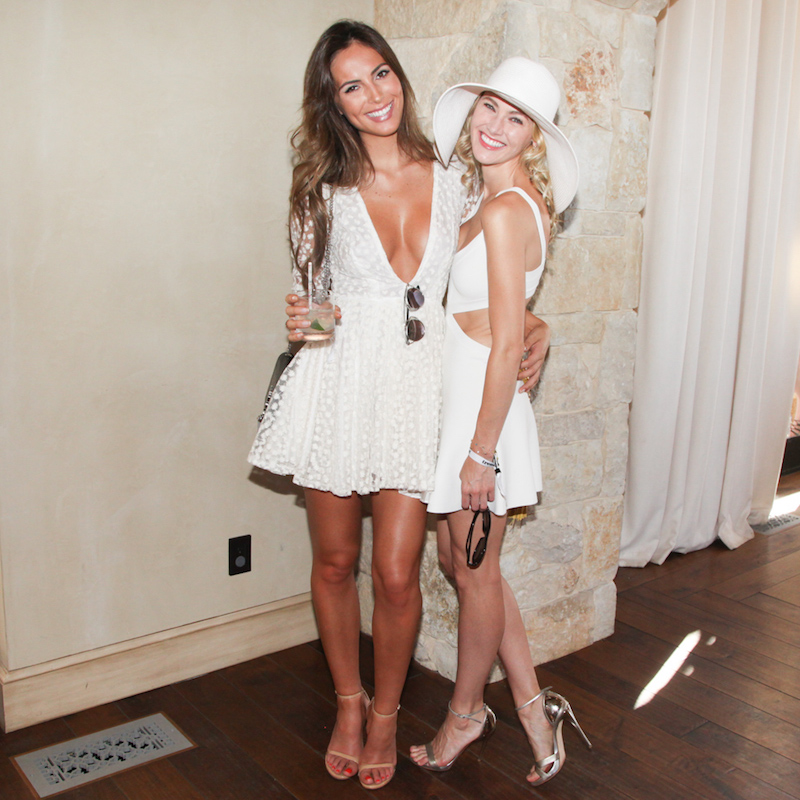 """Brittany Ward attends Treats! Magazine's 3rd Annual Labor Day White Party presented by Absolut Elyx and Stella Artois"""""""