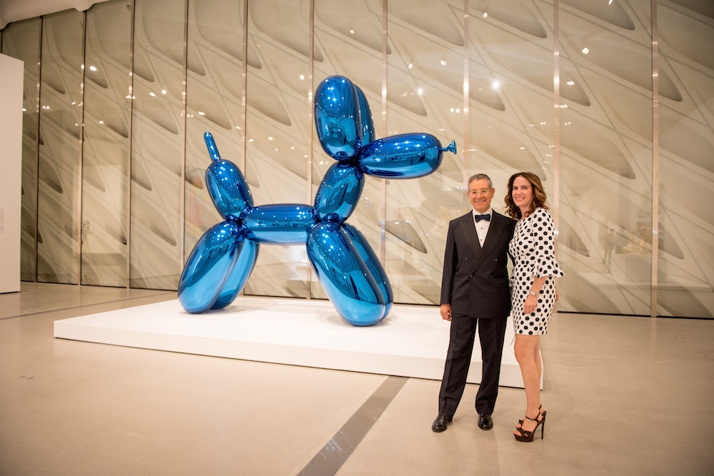 Guests during the Inaugural Dinner for the opening of The Broad Museum on Thursday, September 17, 2015, in Los Angeles, California