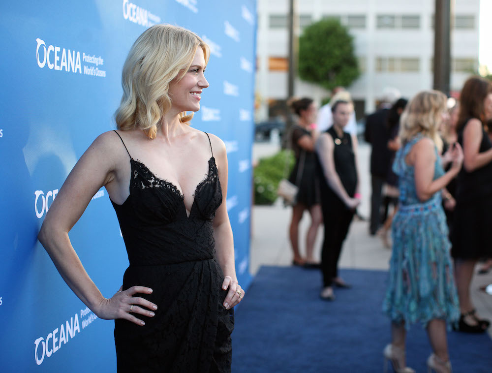 January Jones attends