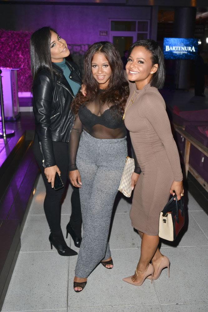 Sisters Christina, Danielle and Lizzy Milian attend the Star Scene Stealers event at the W Hollywood on October 22nd, 2015