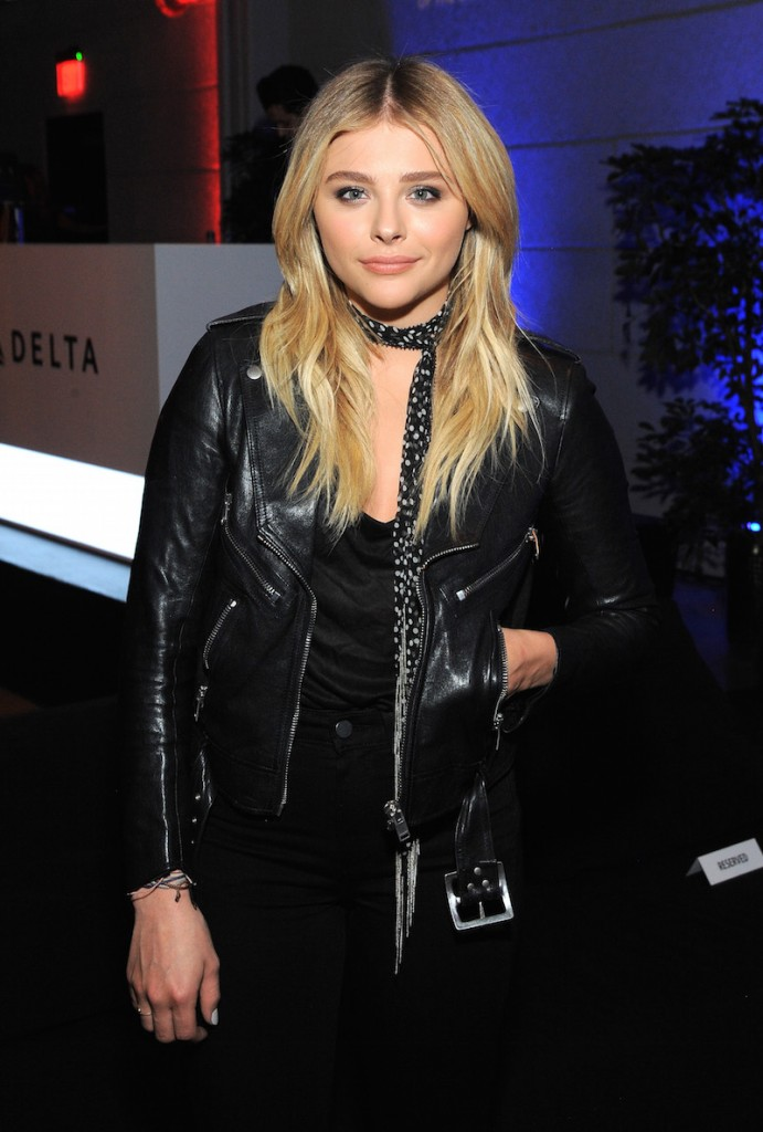 Actress Chloe Grace Moretz attends Delta Air Lines