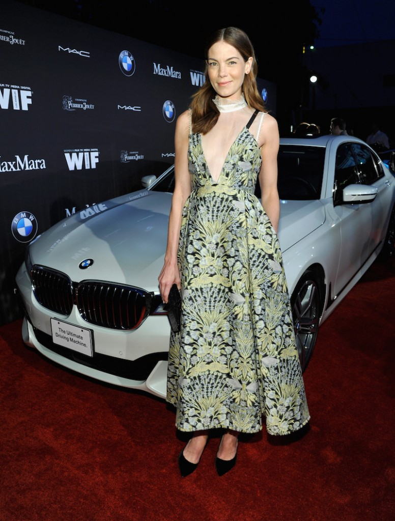 Actress Michelle Monaghan in Max Mara attends Ninth Annual Women In Film Pre-Oscar Cocktail Party presented by Max Mara, BMW, M-A-C Cosmetics and Perrier-Jouet at Hyde Sunset Kitchen + Cocktails at Hyde On Sunset on February 26, 2016 in West Hollywood, California