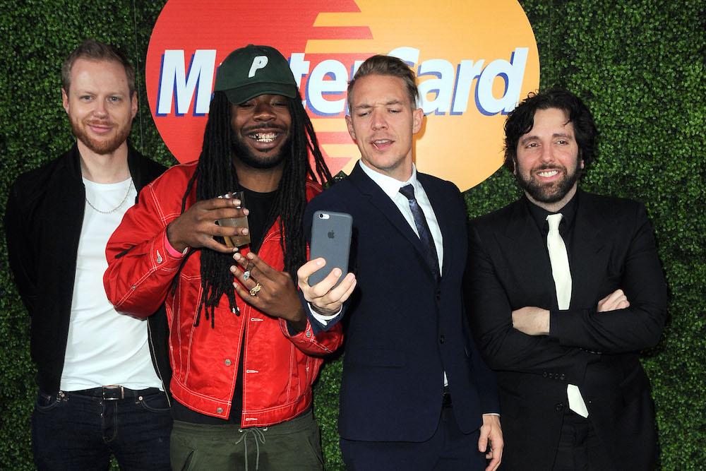 D.R.A.M. and Diplo at Jamie xx & Mark Ronson's Valentine Special on February 14, 2016 at Club James at The Goldstein Residence