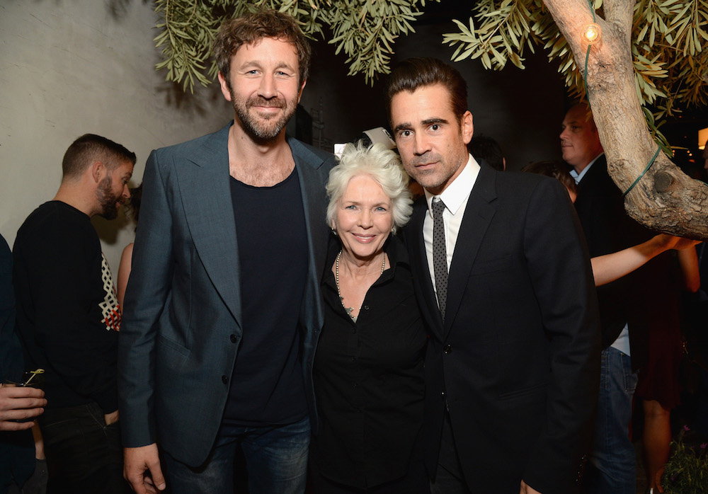 (L-R) Actors Chris O'Dowd, Fionnula Flanagan and Colin Farrell attend The Irish Film Board and IDA celebrating the success of Irish cinema at Laurel Hardware on February 24, 2016 in West Hollywood, California