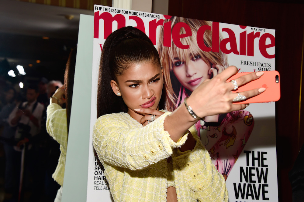 Actress Zendaya attends the