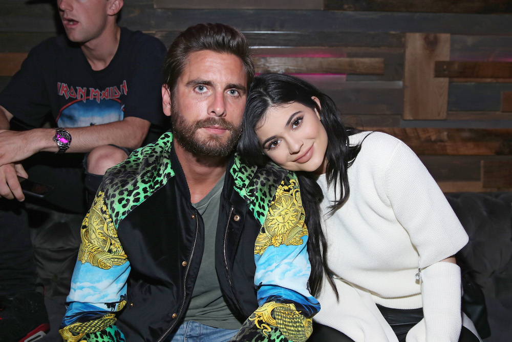 TV personalities Scott Disick (L) and Kylie Jenner attend NYLON Young Hollywood Party, presented by BCBGeneration at HYDE Sunset: Kitchen + Cocktails on May 12, 2016 in West Hollywood, California