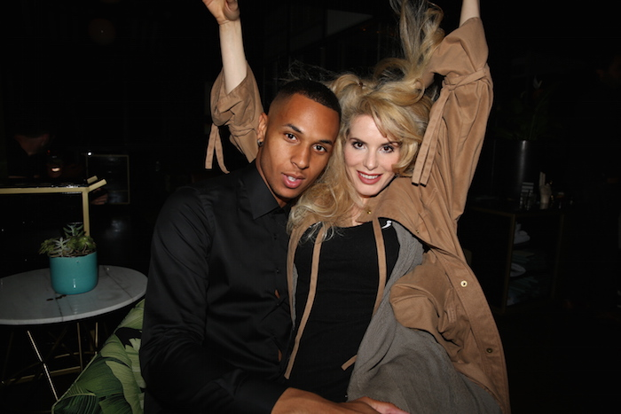 Devin Harrison at Shaun Ross Surprise 25th Birthday Celebration at Doheny Room