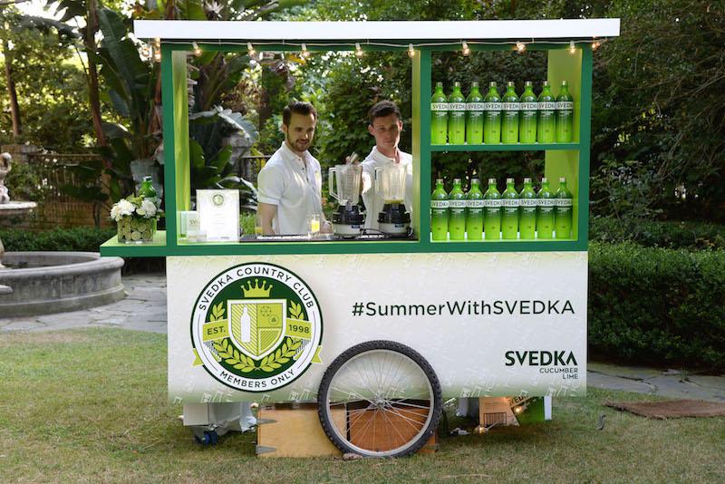 SVEDKA Vodka Celebrates the Launch of Cucumber Lime at SVEDKA's Country Club