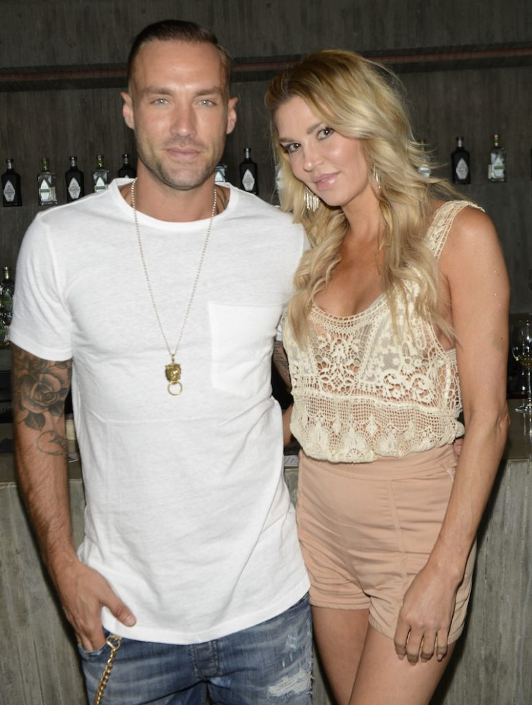 Model Calum Best and Television Personality Brandi Glanville at 2016 ESPYs Talent Resources Sports Luxury Lounge on July 12, 2016 in Los Angeles, California