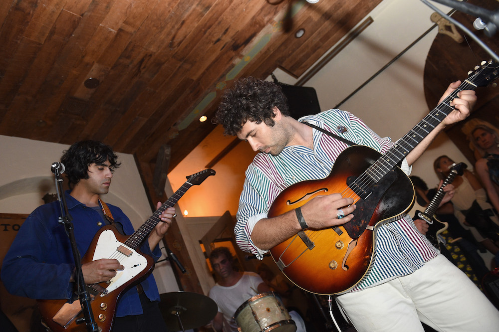The Allah-Las perform during Buff Monster x Minions x Rusty Lost in Paradise Capsule Collection launch event on July 28, 2016 in Santa Monica, California