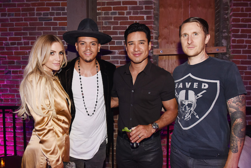 Ashlee Simpson Ross, Evan Ross, Mario Lopez, Scott Campbell