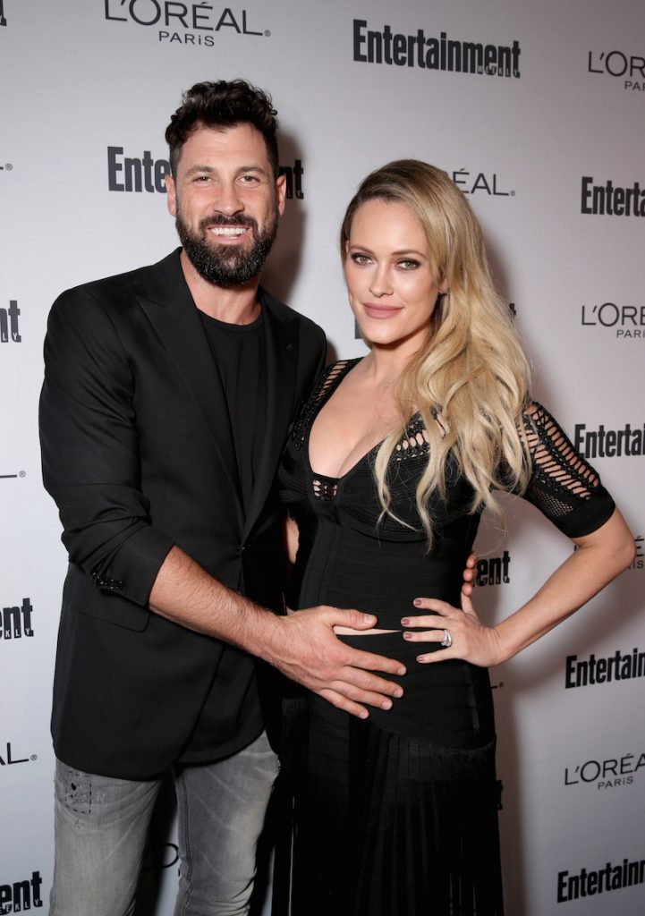 Dancers Maksim Chmerkovskiy and Peta Murgatroyd attend the 2016 Entertainment Weekly Pre-Emmy party at Nightingale Plaza on September 16, 2016 in Los Angeles, California
