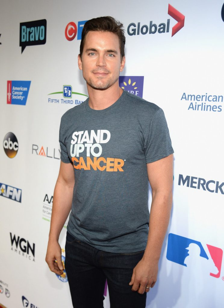 Matt Bomer attends Stand Up To Cancer (SU2C), a program of the Entertainment Industry Foundation (EIF), staging its fifth biennial fundraising telecast at the Walt Disney Concert Hall on Friday September 8, 2016 in Hollywood California