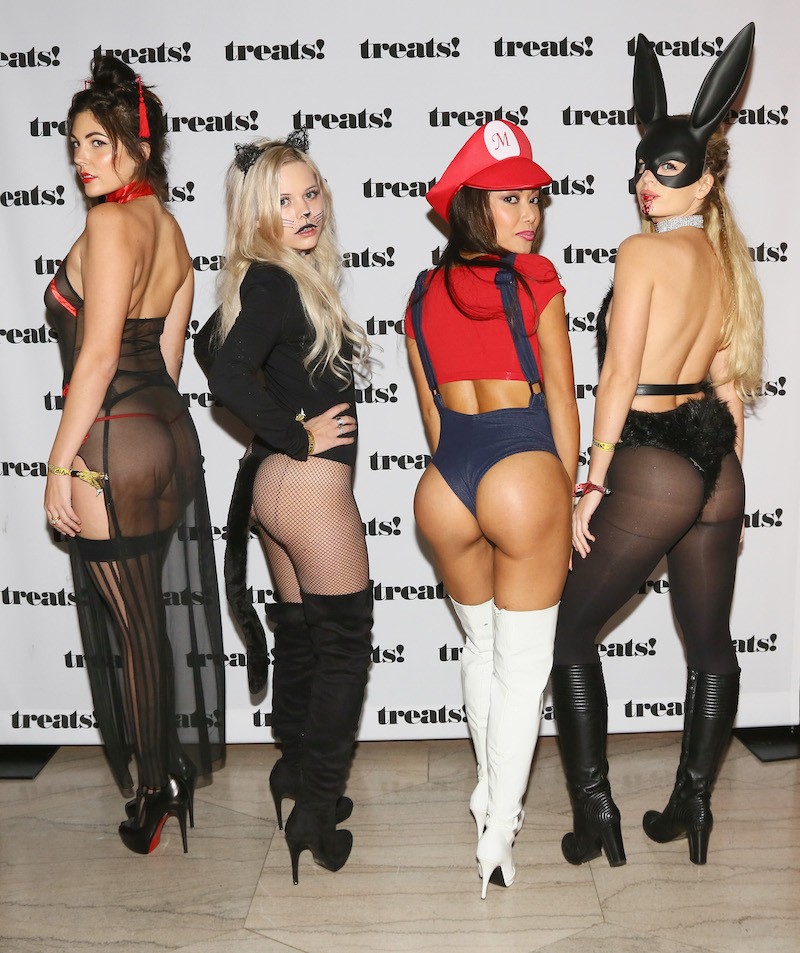 Guests attend Trick or treats! - The 6th Annual treats! Magazine Halloween Party Sponsored by Absolut Elyx on October 29, 2016 in Los Angeles, California
