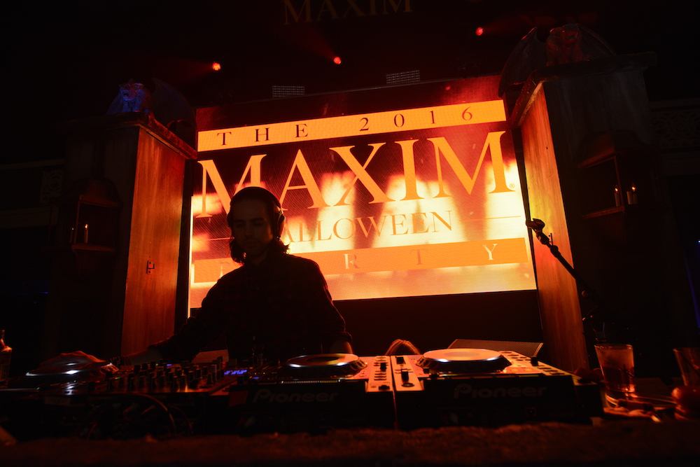 the 2016 MAXIM Halloween Party produced by Karma International at The Shrine Auditorium on October 22nd, 2016