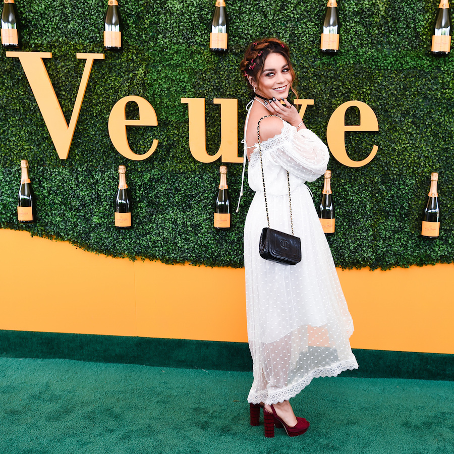 Vanessa Hudgens attends the Seventh Annual Veuve Clicquot Polo Classic, Los Angeles at Will Rogers State Historic Park on October 15, 2016 in Pacific Palisades, California