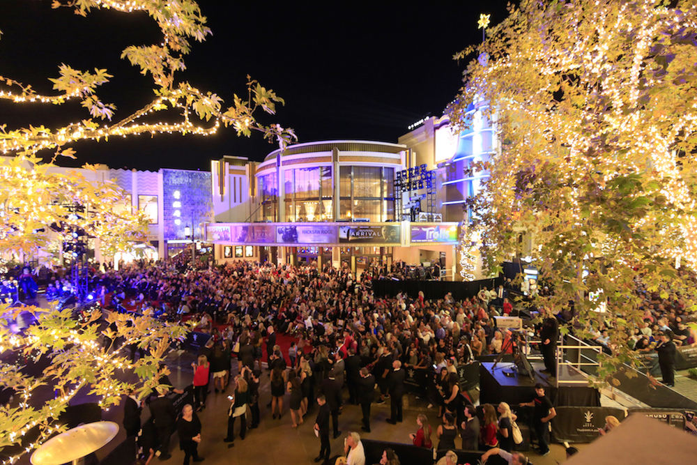 A general view of atmosphere at The Grove Christmas with Seth MacFarlane, presented by Citi at The Grove on November 13, 2016 in Los Angeles, California