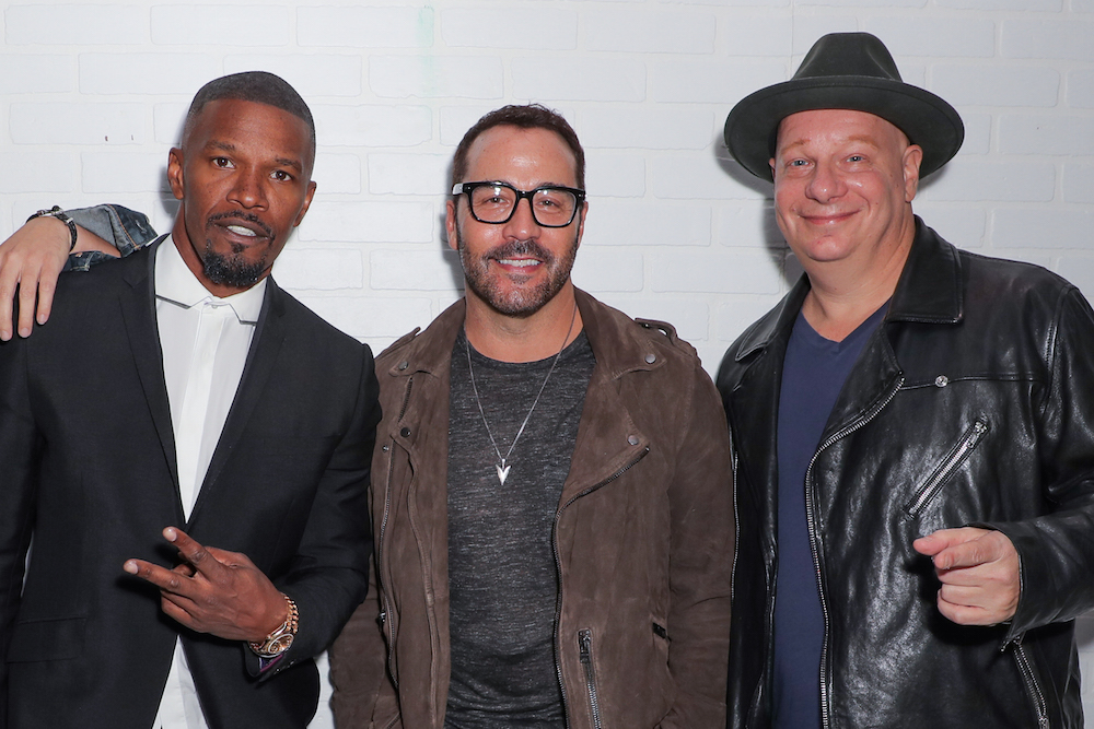 Jamie Foxx, Jeremy Piven and Jeff Ross attended Airbnb Open Spotlight on Saturday, November 19th in Downtown LA