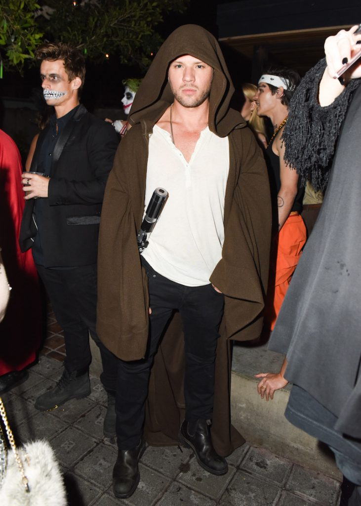 Ryan Phillippe attends Just Jared 5th Annual Alien Themed Halloween Bash at Tenants of the Trees on November 30th, 2016