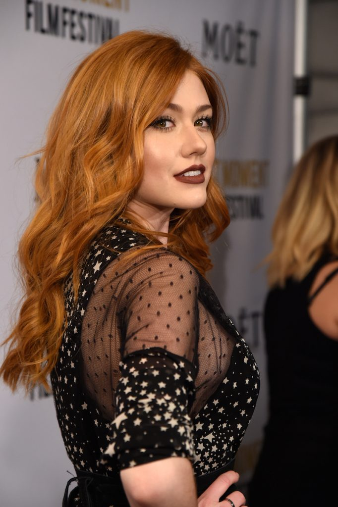 Actress Katherine McNamara attends  Moet & Chandon Celebrates The 2nd Annual Moet Moment Film Festival and Kicks off Golden Globes Week at Doheny Room on January 4, 2017 in West Hollywood, California