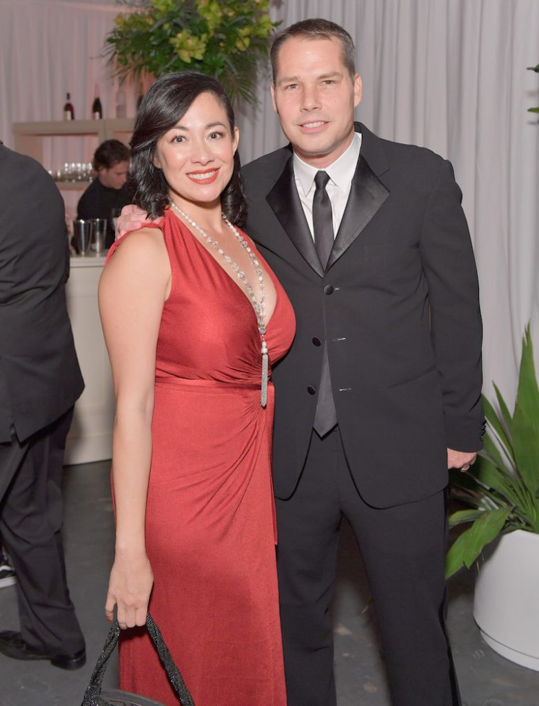 Amanda Fairey (L) and artist Shepard Fairey attend The Art of Elysium presents Stevie Wonder's HEAVEN - Celebrating the 10th Anniversary at Red Studios on January 7, 2017 in Los Angeles, California