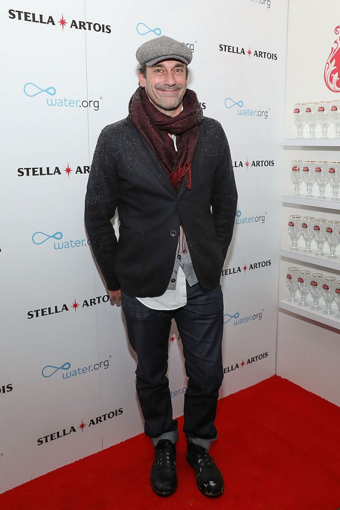 Jon Hamm at the 'Ingrid Goes West' party in the Stella Artois Filmmaker Lounge during the Sundance Film Festival  on January 20, 2017 in Park City, Utah