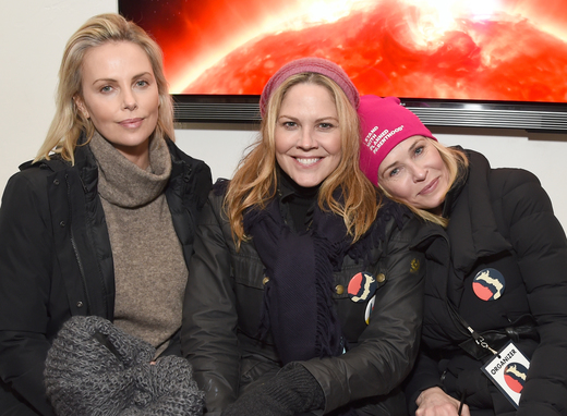 Charlize Theron, Mary McCormick, Chelsea Handler at The Hub at Park City Live featuring the Marie Claire Studio and 4kUltra HD Showcased presented by the Consumer Technology Association (CTA)