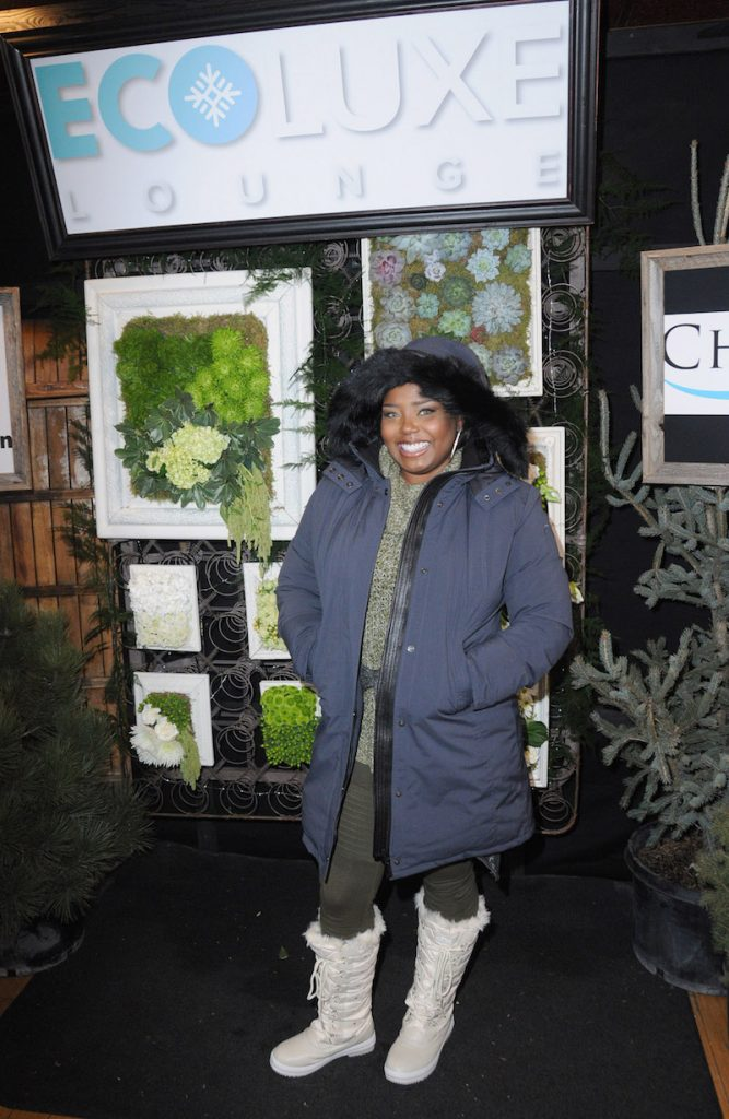 Shar Jackson attends EcoLuxe Lounge Ten Years at Sundance on January 22, 2017 in Park City, Utah