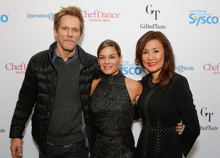 Kevin Bacon, Chef Cat Cora and CEO Mimi Kim come together at ChefDance benefitting Operation Smile at Sundance 2017