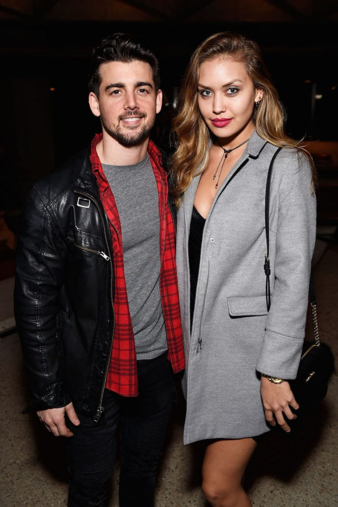 John DeLuca (L) and Lidia Rivera attend E!'s The Arrangement Event on February 15, 2017 in Los Angeles, California