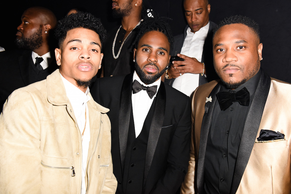 Vici, Jason Derulo, and Cesaire attend Rihanna's Club Anti: Grammys Afterparty