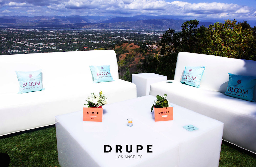 Drupe Los Angeles Launch Party: Presented by BLOOM Gin