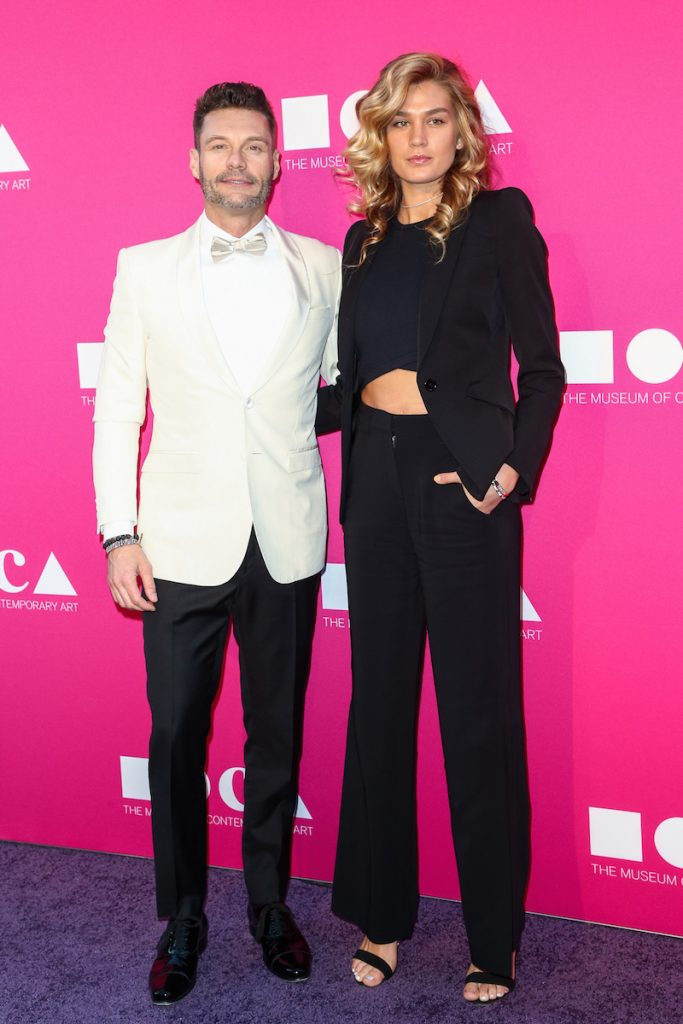 Ryan Seacrest and Shayna Taylor attend the MOCA Gala 2017: Honoring Jeff Koons