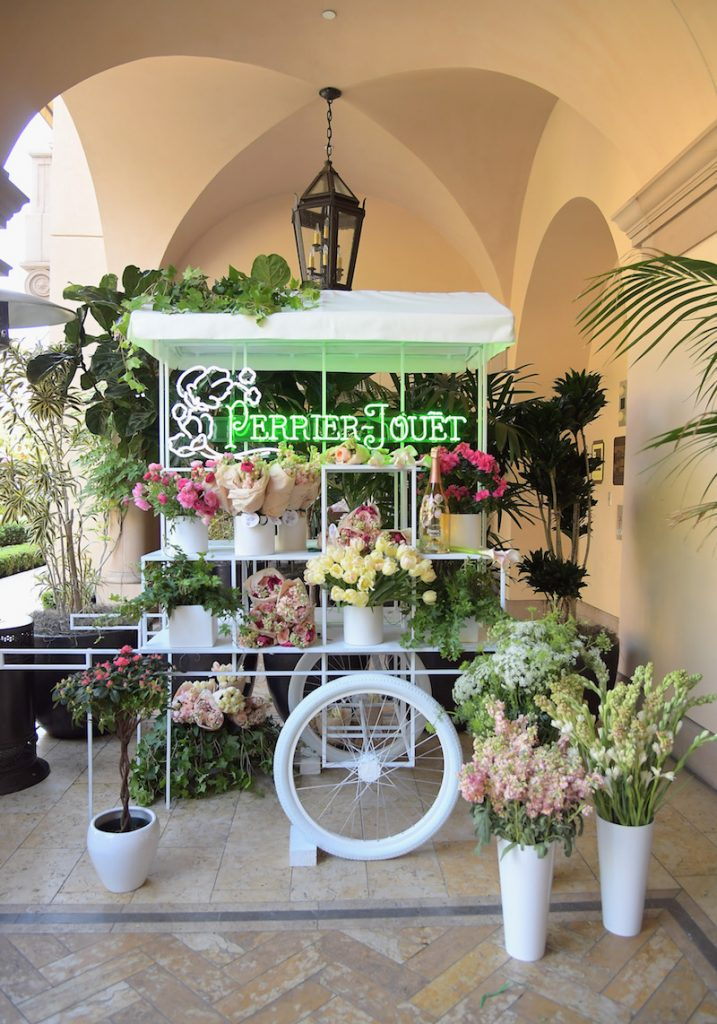 Flowers on display at Perrier-Jouet Toasts Mother's Day in Celebration at Georgie at Montage Beverly Hills on May 11, 2017 in Beverly Hills, California