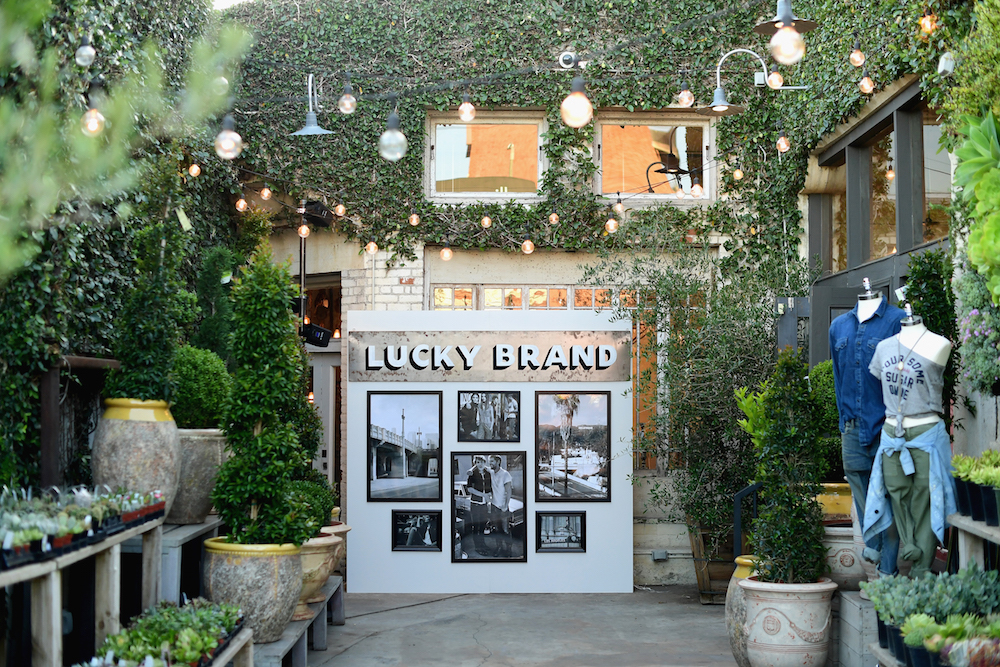 A view of the atmosphere at Lucky Brand Presents Lucky Lives On FW 2017 Preview on May 12, 2017 in Los Angeles, California
