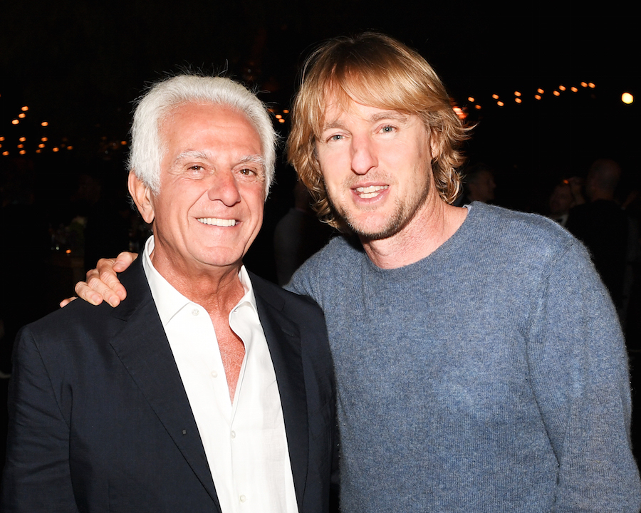 Owen Wilson and Maurice Marciano attend the Marciano Art Foundation: Opening Night