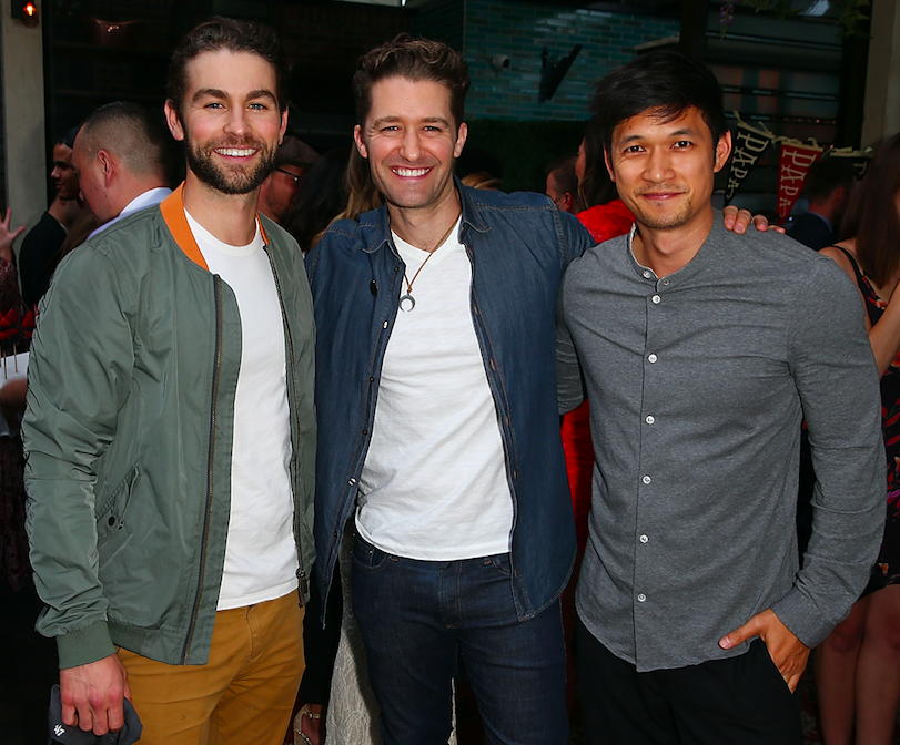 ​Chace Crawford, Matthew Morrison & Harry Shum celebrate the Gilt and Sherpapa Launch at Catch LA