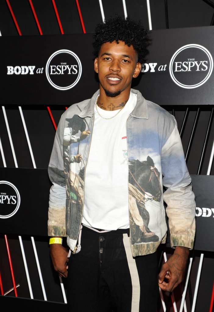 NBA player Nick Young at BODY at ESPYS at Avalon on July 11, 2017 in Hollywood, California