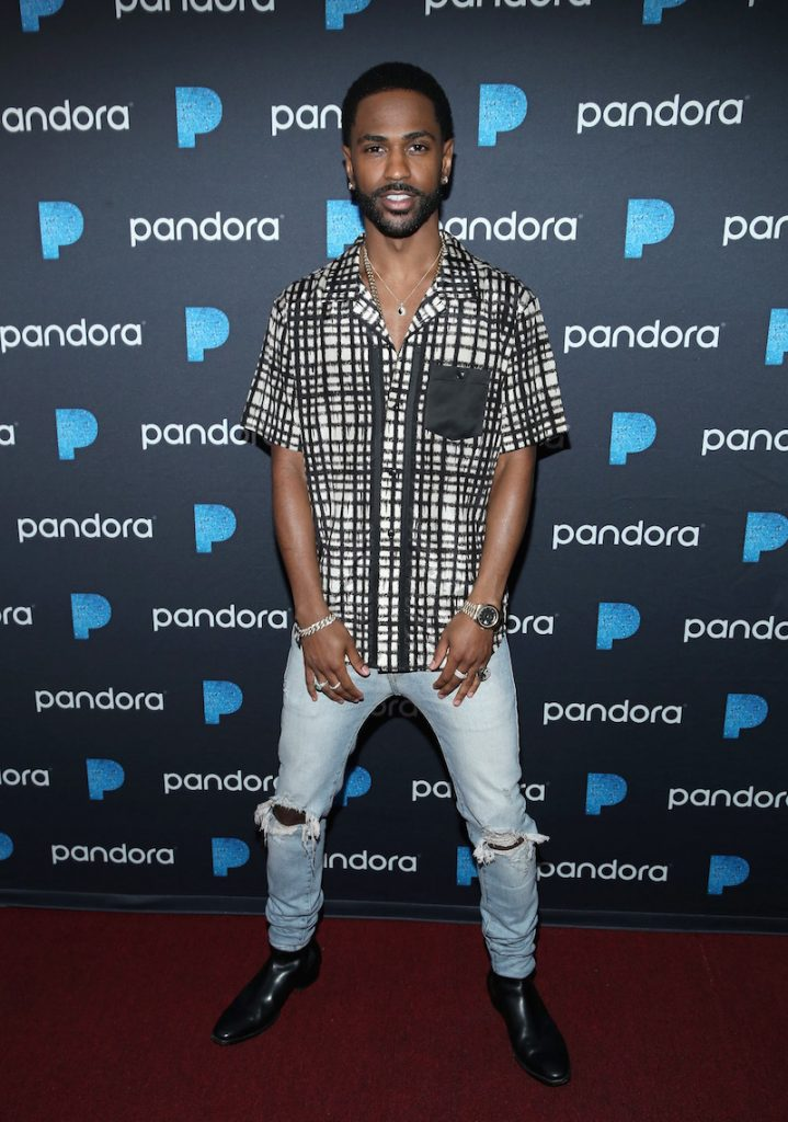 Big Sean attends Pandora Sounds Like You Summer at Los Angeles Memorial Coliseum on July 29, 2017 in Los Angeles, California