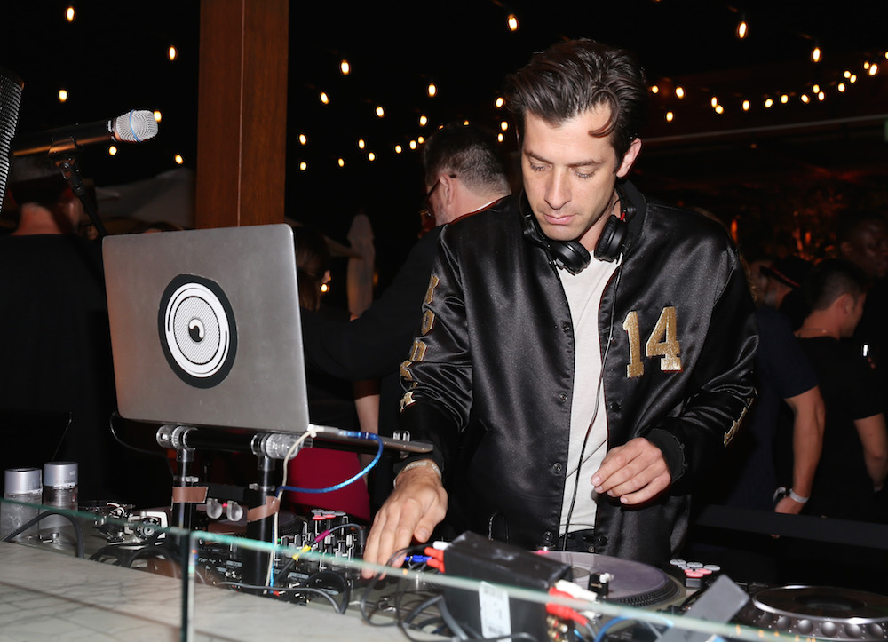 Mark Ronson DJ's The Grand Opening Of The Highlight Room at DREAM Hollywood on July 11, 2017 in Hollywood, California